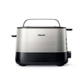 TORRADEIRA 2 FENDAS PHILIPS HD2637/90 INOX - 1704.1822