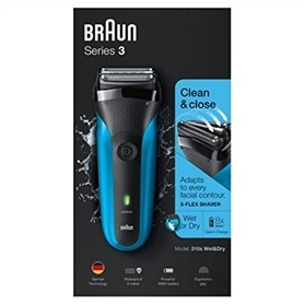 Maquina Barbear Braun Series 3 310 BLUE - 1704.2124