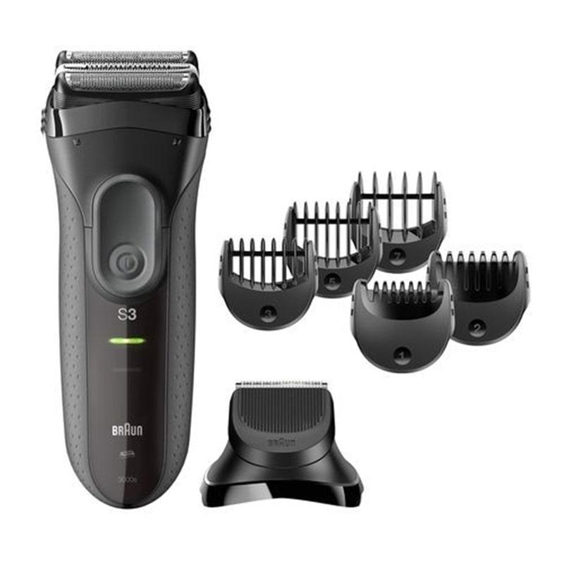 maquina barbear braun series 3 3000bt eletrodom sticos cuidado pessoal m quinas de barbear. Black Bedroom Furniture Sets. Home Design Ideas