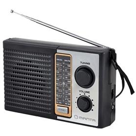RADIO MULTIBANDAS PILHAS E CORRENTE MANTA RDI103 PANAMA - 1705.0320