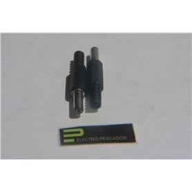 Ficha Aliment C/Furo 2,1mmx5,5mm 14mm - 44050710A