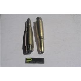 Adaptador XLR Femea - 6,3mm Femea Mono - 53040020