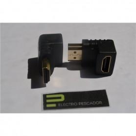 ADAPTADOR HDMI FEMEA - HDMI MACHO 90º - GEN-ADAPTHDMI02