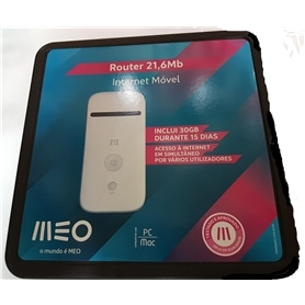 ROUTER 3G MEO ZTE MF65M - 1705.1703