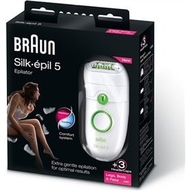 Depiladora Braun Silk Epil 5 5580 Epilator - LEGS, BODY&FACE - 1705.2622