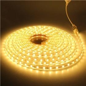 FITA DE LEDS 24W 12V 5M 300 LEDS IMPERMEAVEL AMARELO - 1511.1704