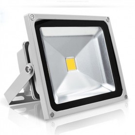 Projector Exterior LED  20w Branco Frio - LB-PROJ06