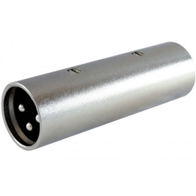 Adaptador XLR Macho - XLR Macho - 44020486