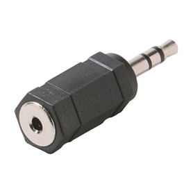 Adaptador 3,5mm Macho Estereo - 2,5mm Femea Estereo - 53040103