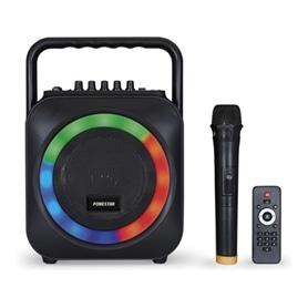SISTEMA SOM COM MICRO FONESTAR BOX-35LED GRAVA EM USB - 1706.0129