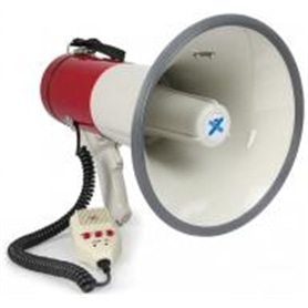 MEGAFONE 50W VEXUS 952.010 c/gravação + Micro +sirene - 1705.1253