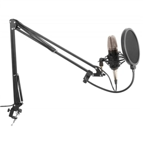 PACK ESTUDIO VONYXAUDIO MICROFONE+SUPORTE+POP FILTER - 1706.0158
