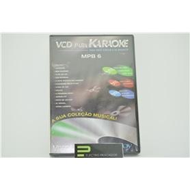 KARAOKE VCD TECTOY/SEGA MPB 6 ***** - KAR-MKVCD009