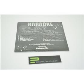 KARAOKE CDG KARAOKE HITS VOL 15 *** - KAR-CDGECO029