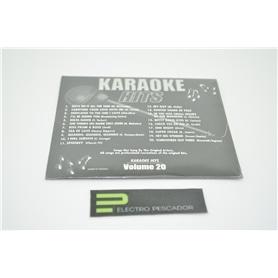 KARAOKE CDG KARAOKE HITS VOL 20 *** - KAR-CDGECO020
