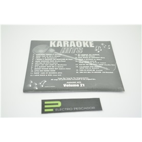 KARAOKE CDG KARAOKE HITS VOL 21 *** - KAR-CDGECO021
