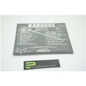 KARAOKE CDG KARAOKE HITS VOL 24 *** - KAR-CDGECO024