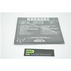 KARAOKE CDG KARAOKE HITS VOL 25 *** - KAR-CDGECO025