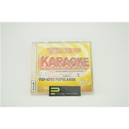 KARAOKE VCD TOP HITS POPULARES VOL.3 LIQ *** - KAR-PKVCDK003