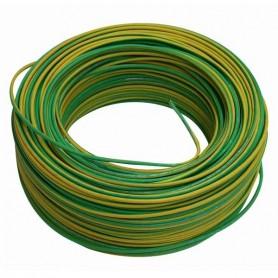 Fio V 2,5mm Verde/Amarelo ### - V25V