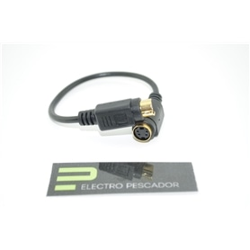 Adaptador S-Video 7pins ->4pins Noru NR954-7631/BL ***** - SVIDEO-ADAPT01