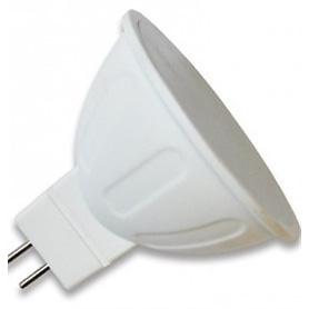 Lâmpada GU5.3 MR16 LED  12v/5w Opalina Branco Quente - 1608.1050