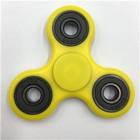 FIDGET SPINNER ORIGINAL: GLOW SILICON YELLOW - 1706.2403