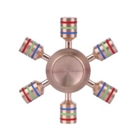 FIDGET SPINNER ORIGINAL: RAINBOW 6PIN PINK - 1706.2499