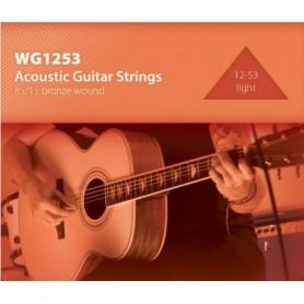 Conjunto de 6 cordas inox p/Guitarra clássica - 1707.0762