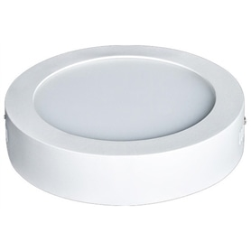 Plafon Redondo Branco 120mm LED  6w Branco Frio - 1707.1050