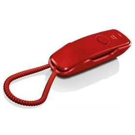 TELEFONE COM FIO SIEMENS DA210 VERMELHO - 1704.2422