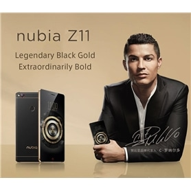 TELEMOVEL NUBIA Z11 BLACK GOLD- 4/64GB - QUALCOM KRYO 2.2GHZ - 1706.2205