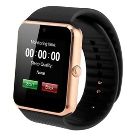 SMARTWATCH & TELEMOVEL GT08 GOLD - 1706.2237