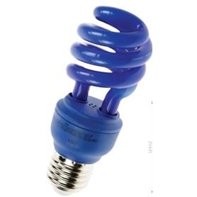 Lâmpada E27 CFL 13w Azul - LPE27AZ