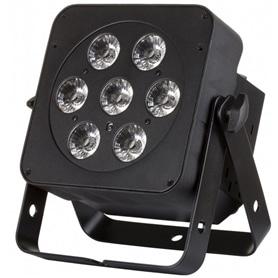 PROJECTOR PRO LED PLANO MULTICOR JBS 7 FC BLACK Por Enc. - 1708.0398