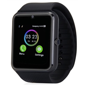 SMARTWATCH & TELEMOVEL GT08 BLACK - 1710.1106