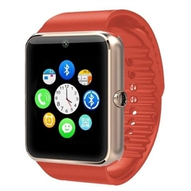SMARTWATCH & TELEMOVEL GT08 RED - 1710.1108