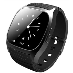 SMARTWATCH SPORT M26 BLUETOOTH PRETO - 1710.1113