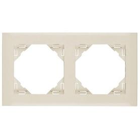 Espelho Duplo Logus 90920 T Marfim - EFA-MEC2126