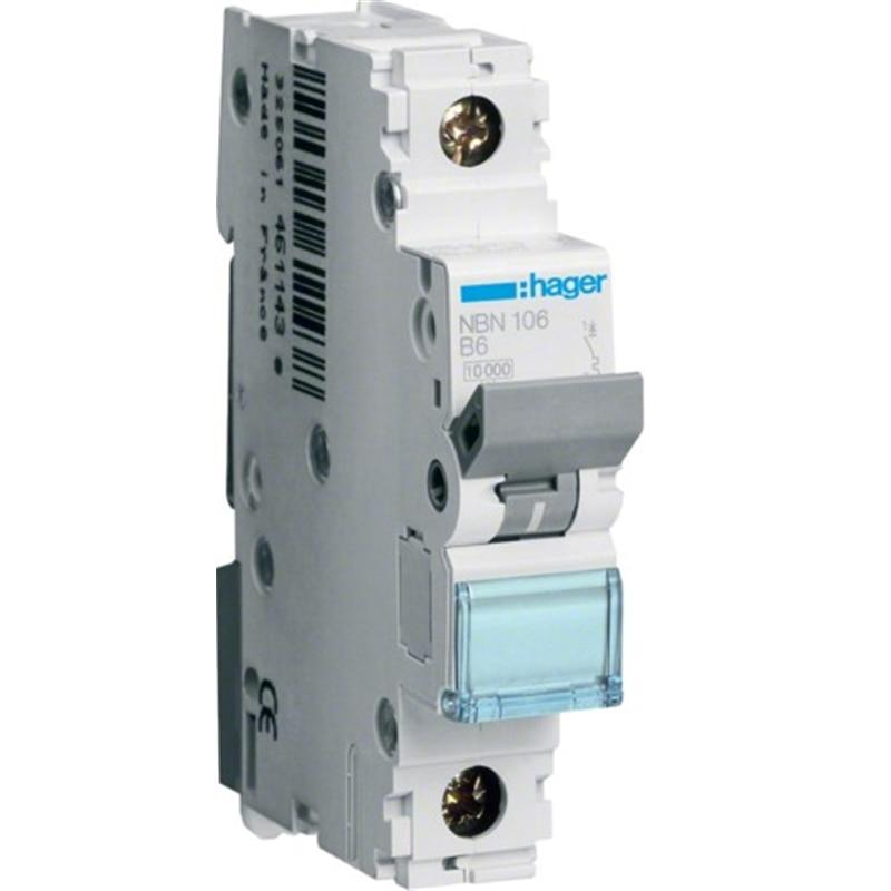 175ce1ce3b5 Disjuntor 1x 6Amp 6000A     - MATERIAL ELECTRICO CIRCUITO ELECTRICO QUADROS  E DISJUNTORES