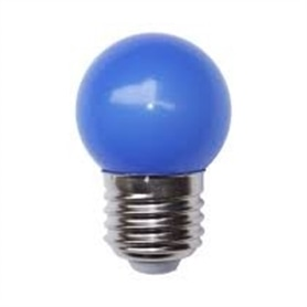 Lâmpada E27 G45 Lustre 25w Azul - LP27AZ