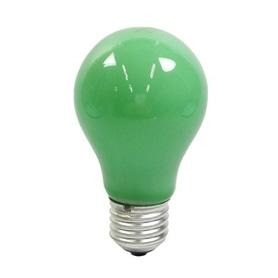 Lâmpada E27 A60 Normal Verde - LPNVD