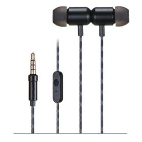 PHONES STEREO COM MICROFONE FONESTAR X4-N PRETO - 1710.2496