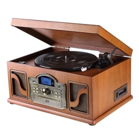 HIFI GIRA DISCOS+CASSETE+CD+RADIO+USB LAUSON CL146 MADEIRA - 1711.0850