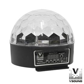 SPECIAL FX HALFBALL: DMX 9W VSOUND EP.VSPROJVS26A - 1711.2195