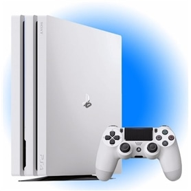 CONSOLA PS4 PLAYSTATION 4 DISCO 1TB PRO GLACIER WHITE - 1712.1701