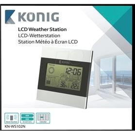 ESTACAO METEREOLOGICA KONIG LCD KN-WS102N - 1706.2901