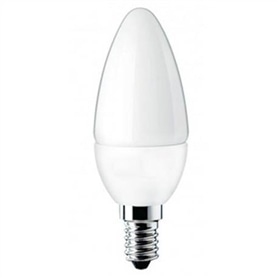 Lâmpada E14 VELA LED 5,5w Branco Frio - 1712.1556