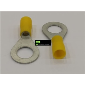 Terminal Olhal 10mm Amarelo - 63300