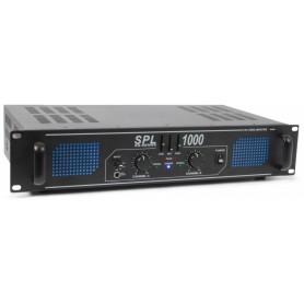 AMPLIFICADOR PRO 2x 500W TRONIOS SPL1000EQ C/ EQUALIZADOR - 1802.0150